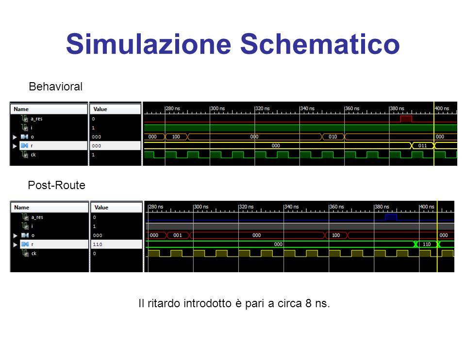 Simulazione Schematico