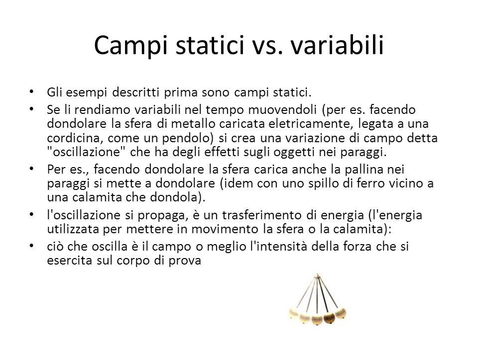Campi statici vs. variabili