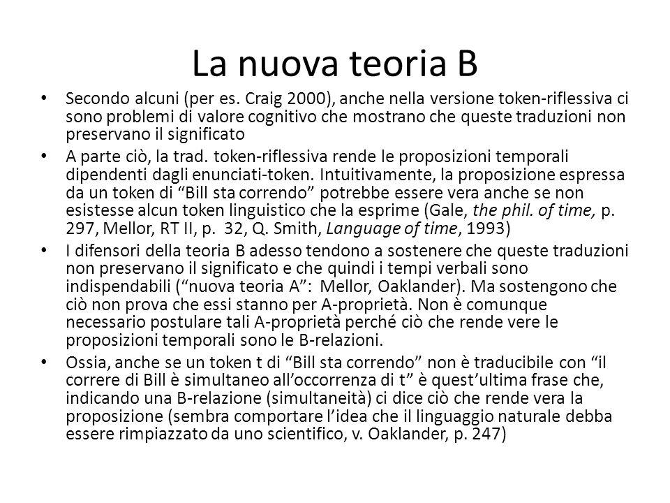 La nuova teoria B