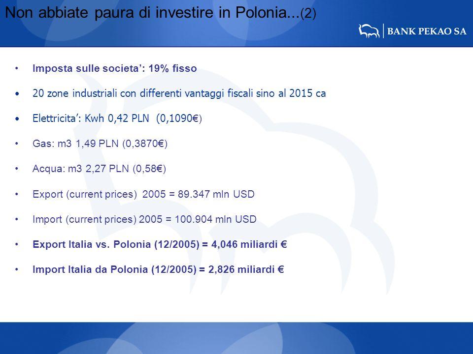Non abbiate paura di investire in Polonia...(2)