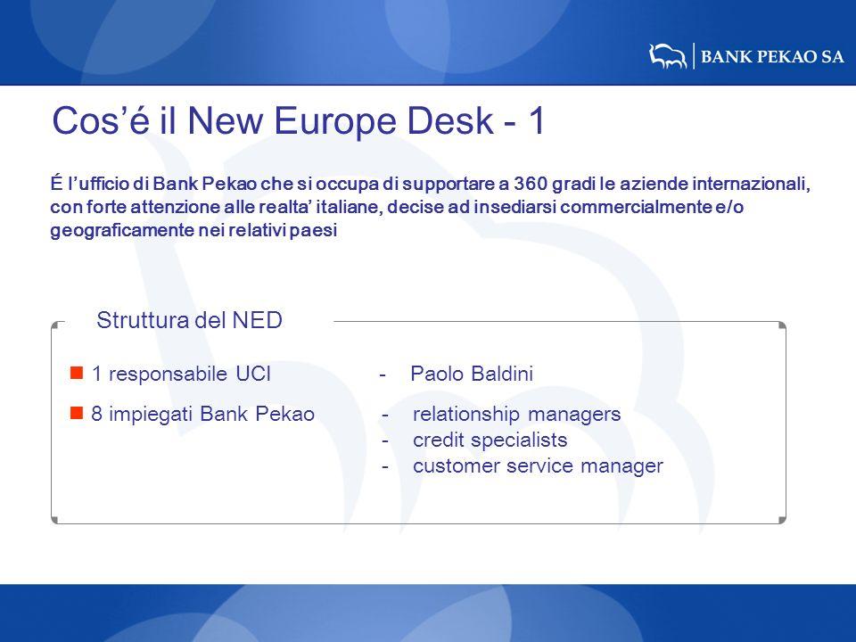 Cos'é il New Europe Desk - 1