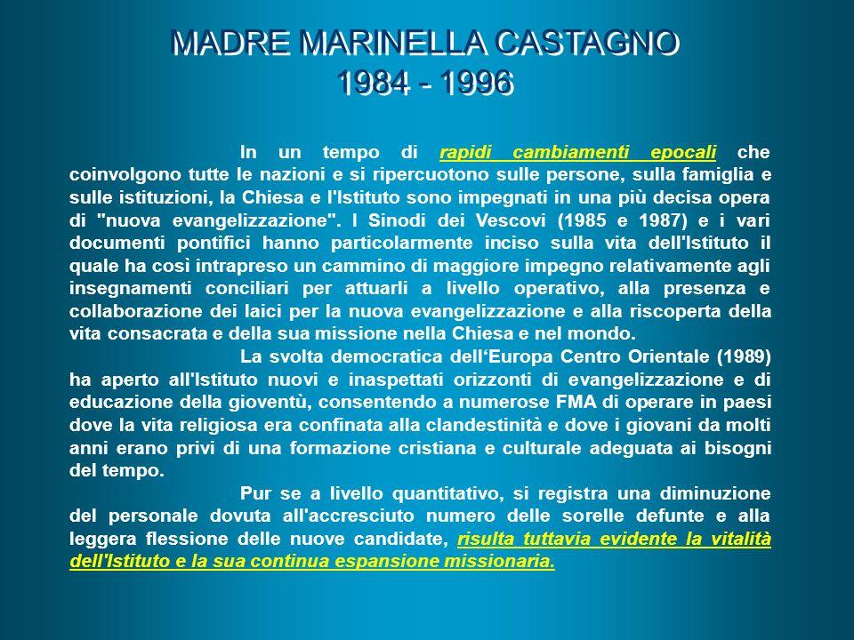MADRE MARINELLA CASTAGNO 1984 - 1996