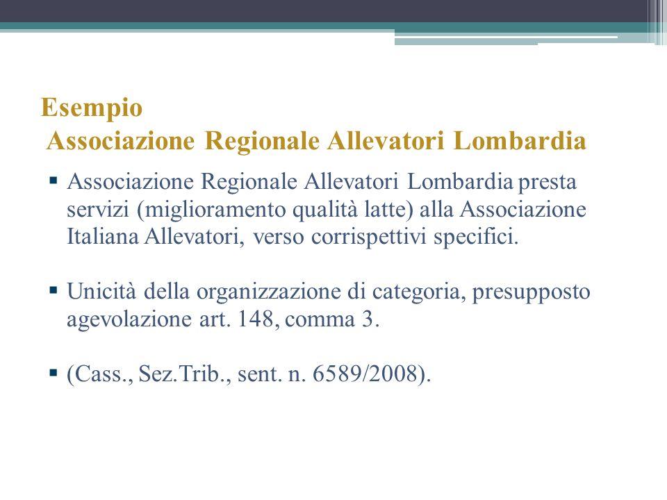 Esempio Associazione Regionale Allevatori Lombardia