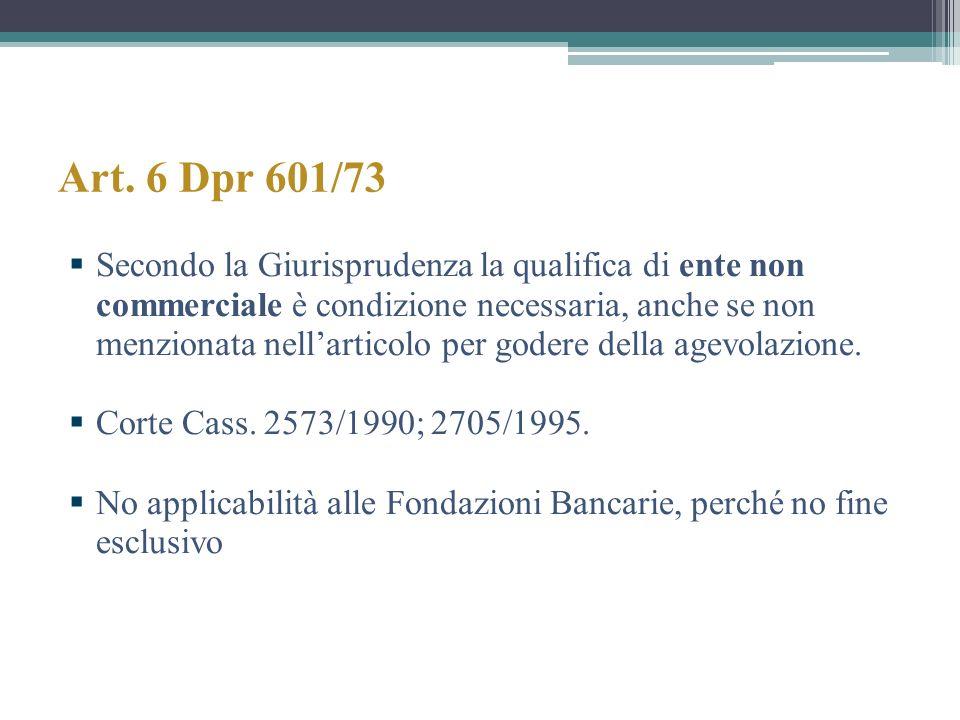 Art. 6 Dpr 601/73