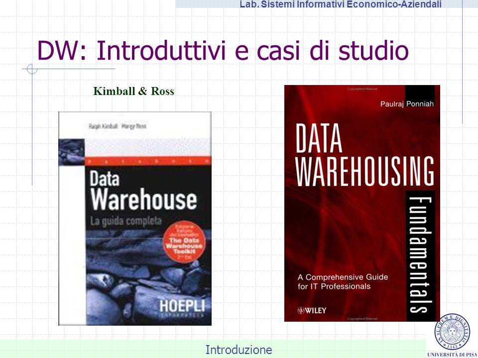 DW: Introduttivi e casi di studio