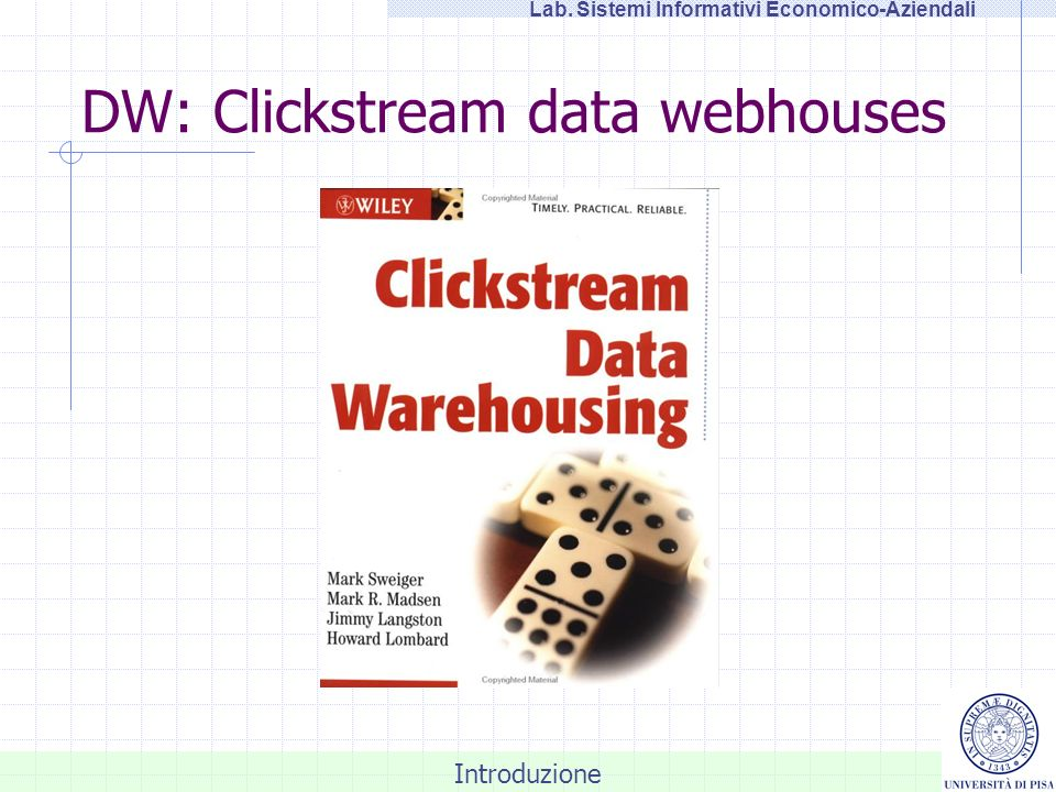 DW: Clickstream data webhouses