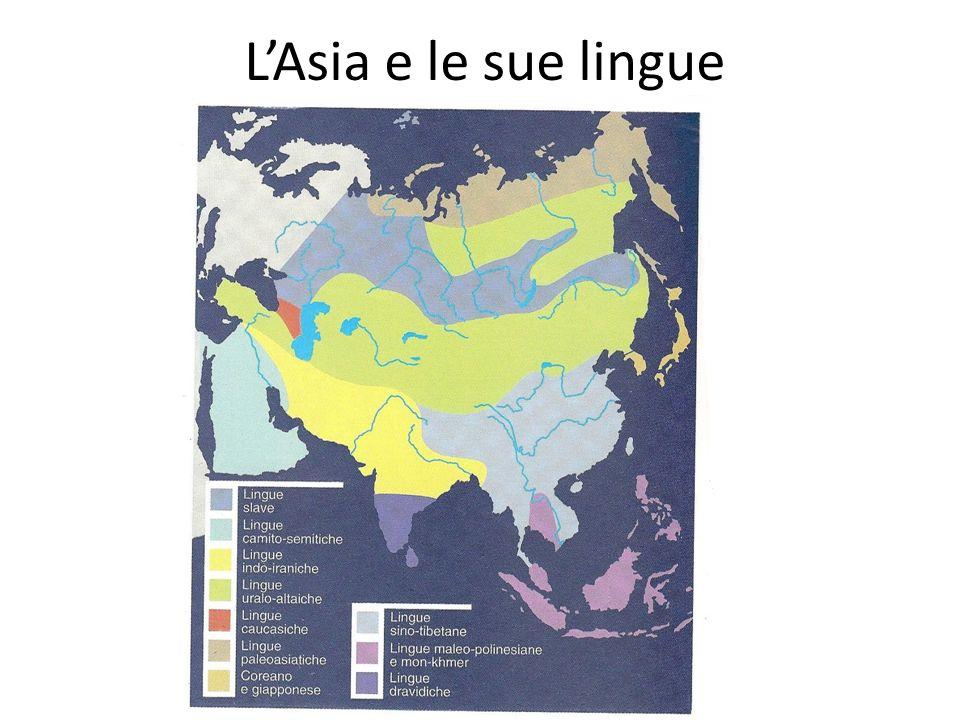 L'Asia e le sue lingue