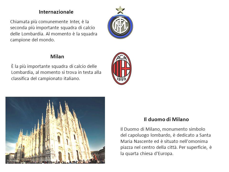 Internazionale Milan Il duomo di Milano