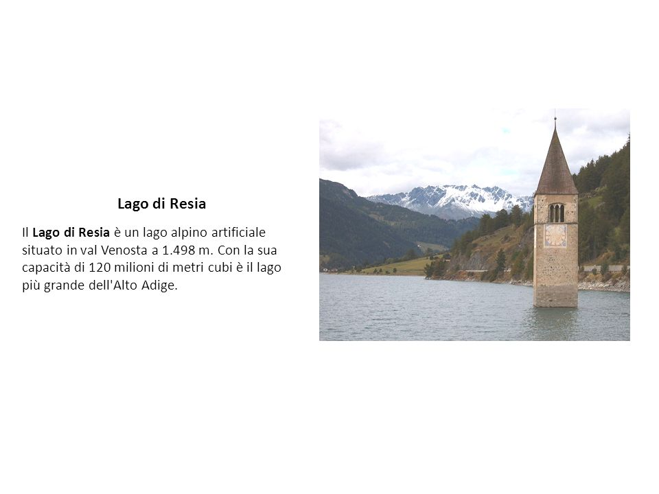 Lago di Resia