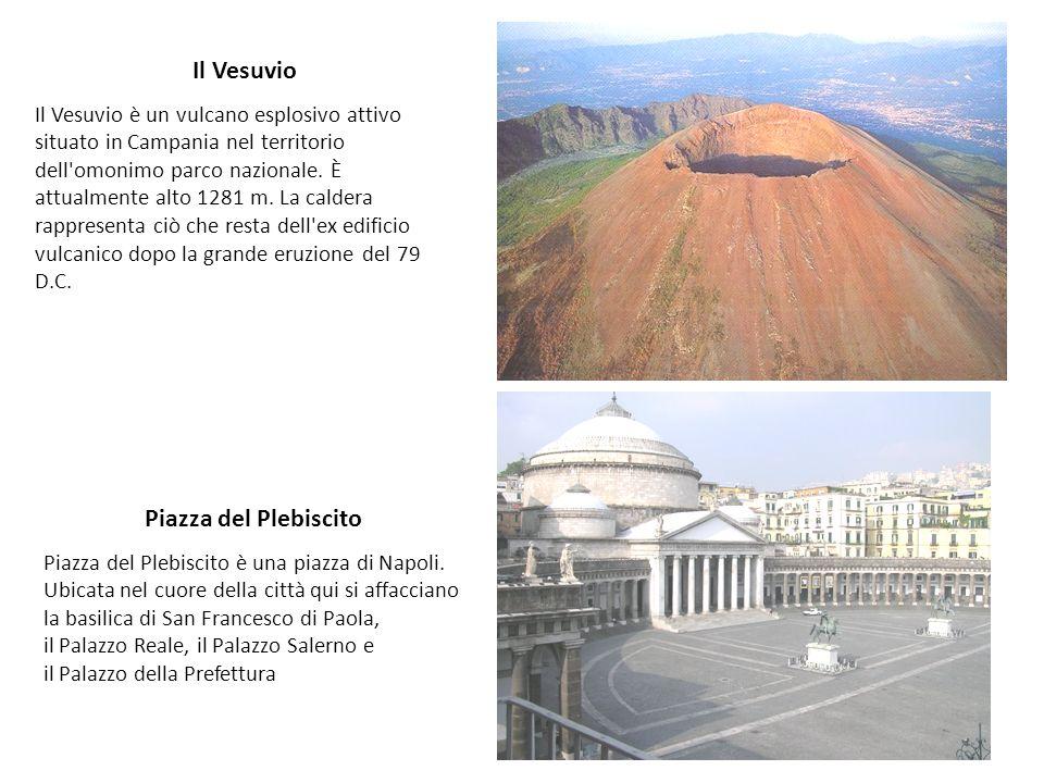 Il Vesuvio Piazza del Plebiscito