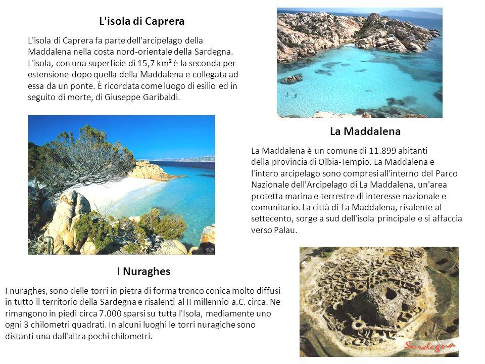 L isola di Caprera La Maddalena