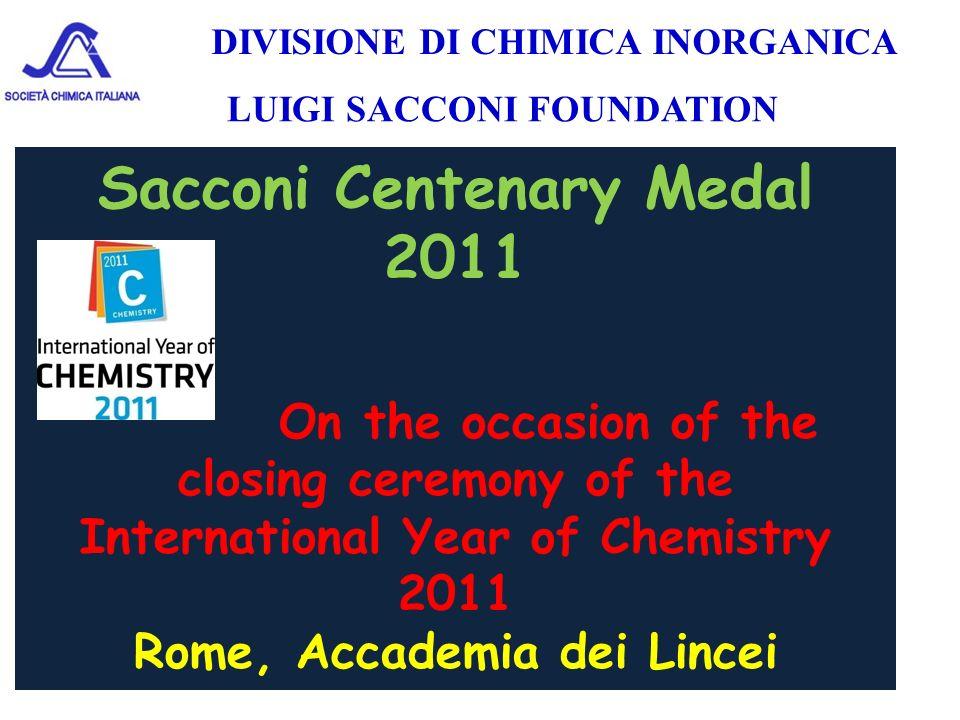 Sacconi Centenary Medal 2011