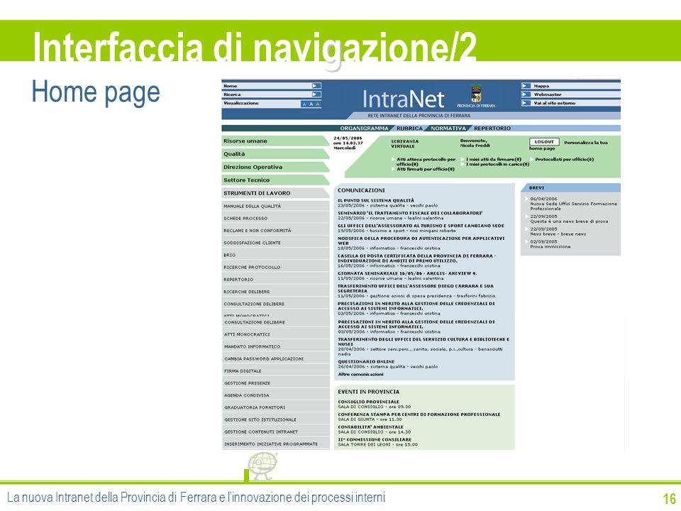 Interfaccia di navigazione/2