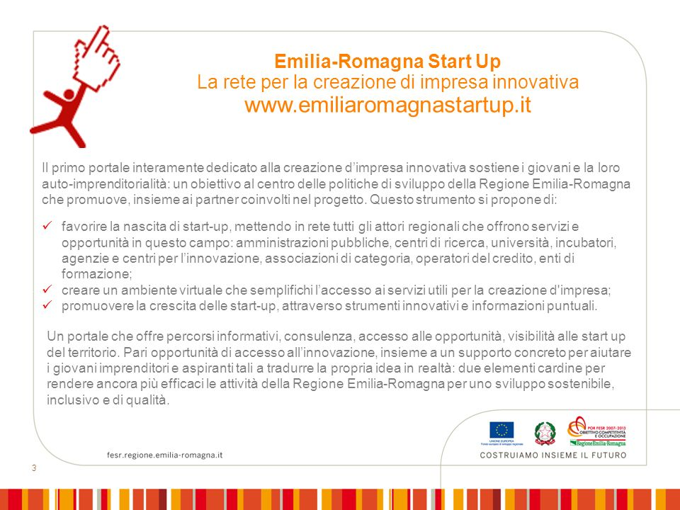 Emilia-Romagna Start Up