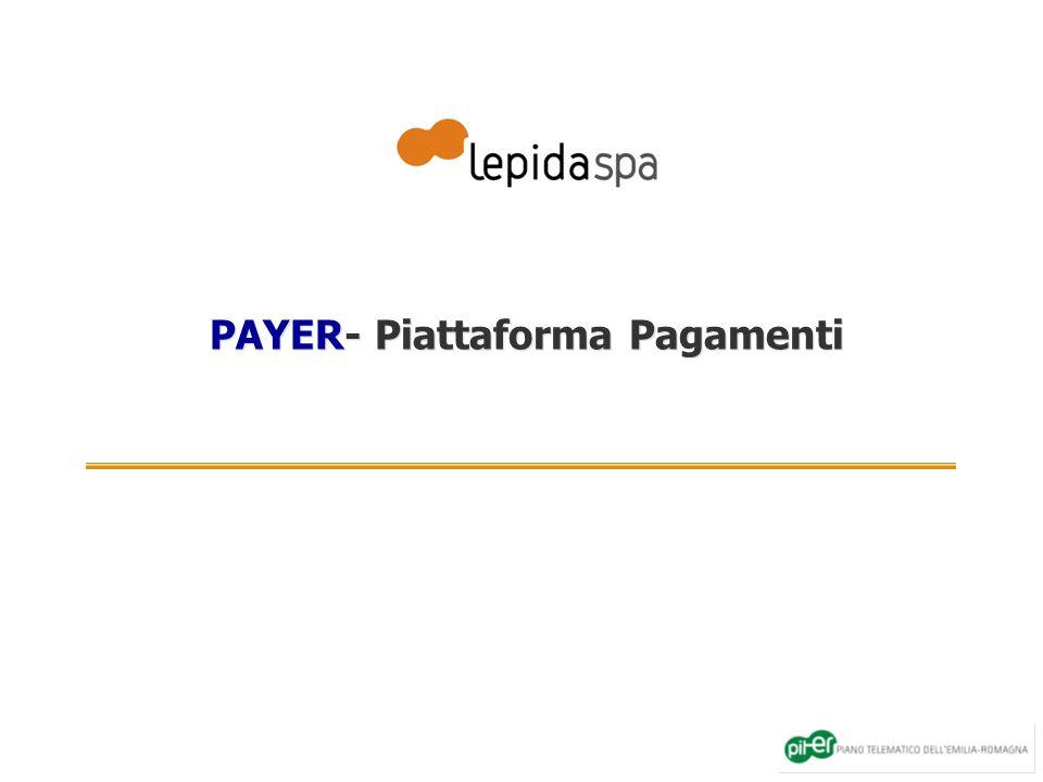 PAYER- Piattaforma Pagamenti