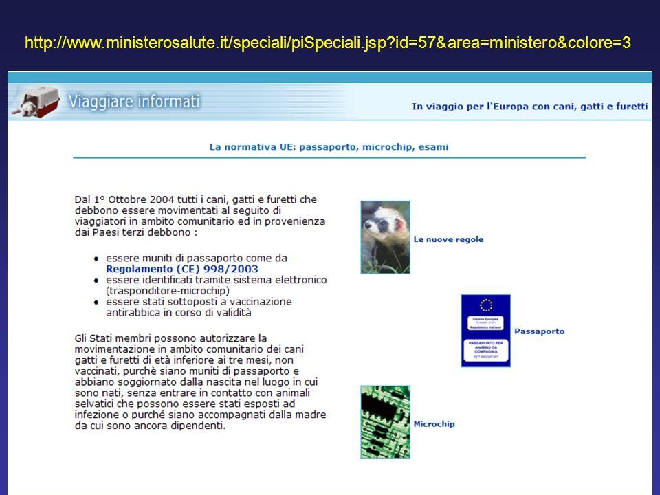 http://www. ministerosalute. it/speciali/piSpeciali. jsp