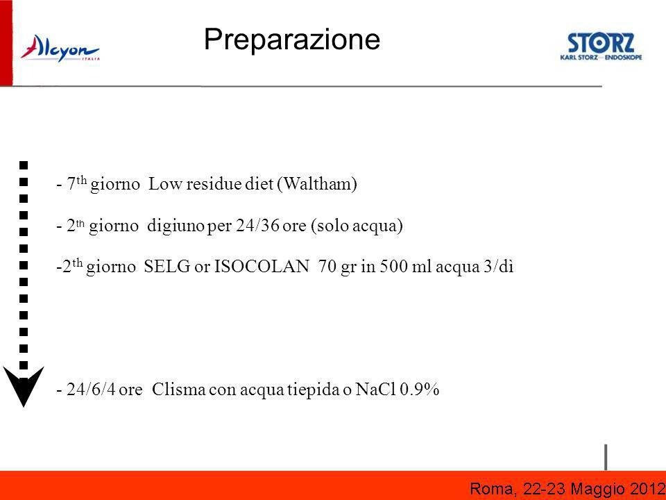 Preparazione - 7th giorno Low residue diet (Waltham)