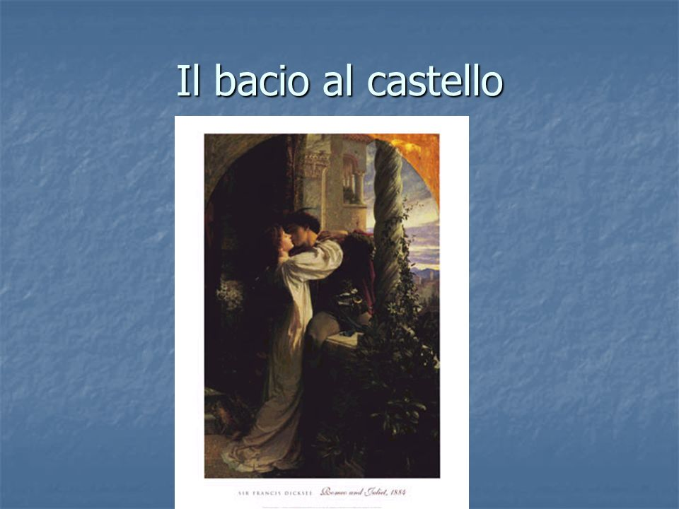 Il bacio al castello http://www.allposters.com/-st/Sir-Frank-Dicksee-Posters_c23911_.htm