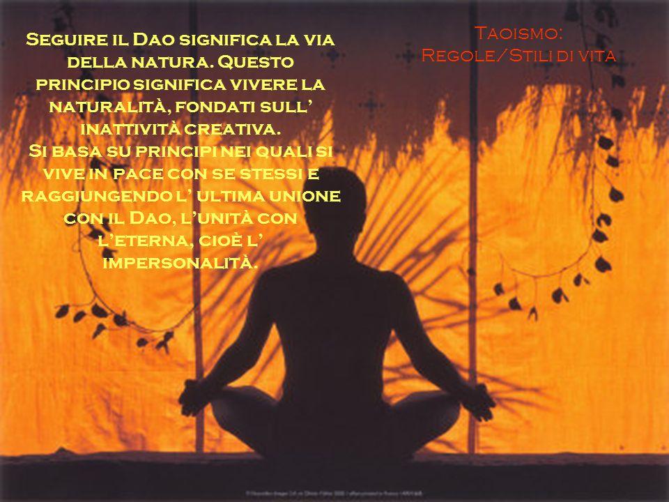 Taoismo: Regole/Stili di vita