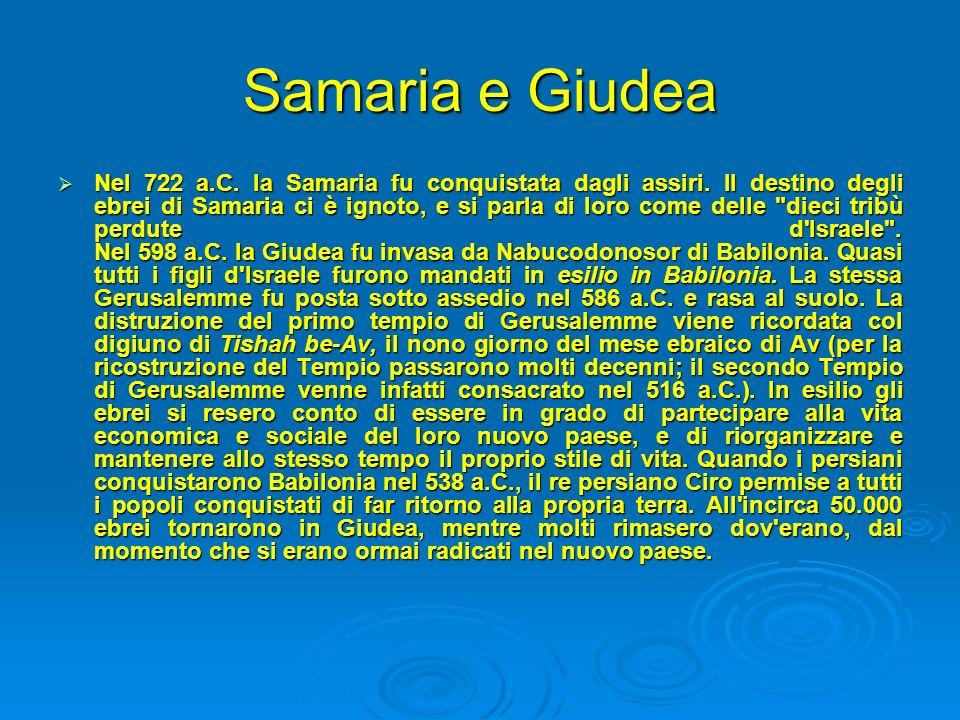 Samaria e Giudea