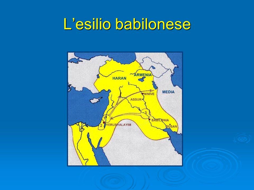 L'esilio babilonese