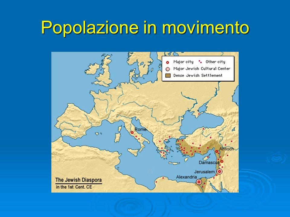 Popolazione in movimento