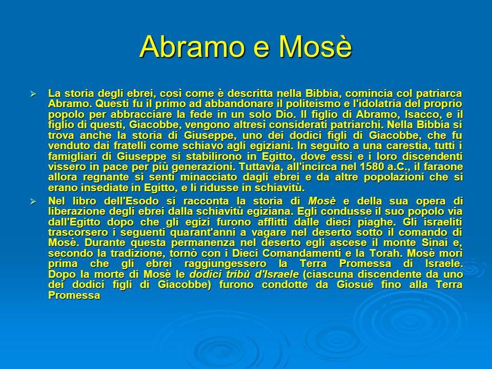 Abramo e Mosè