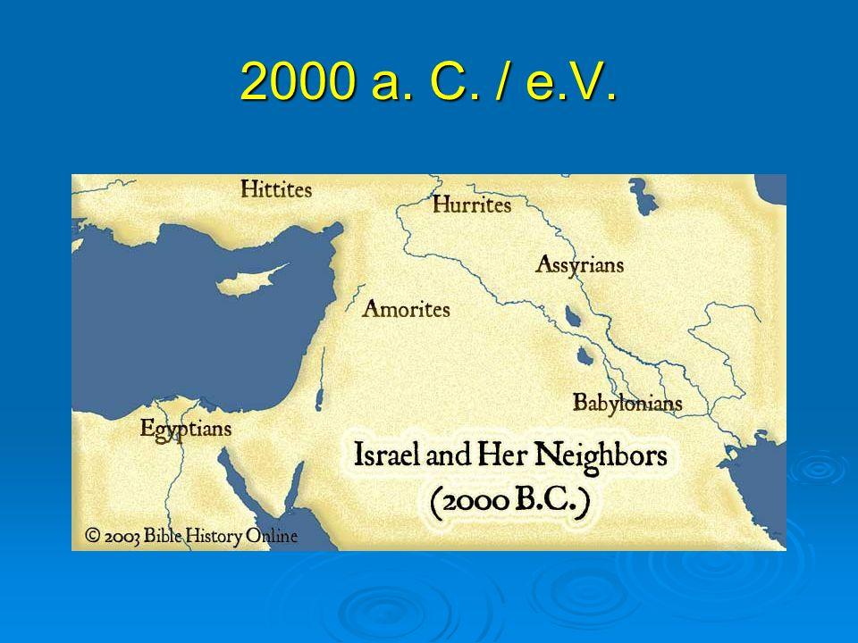 2000 a. C. / e.V.
