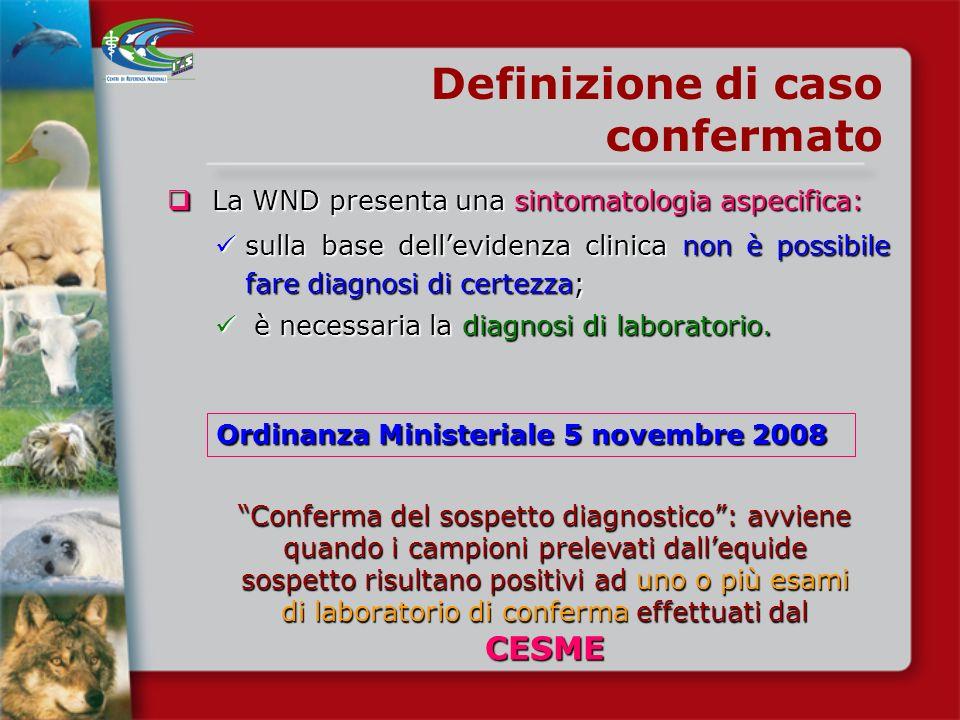 Definizione di caso confermato
