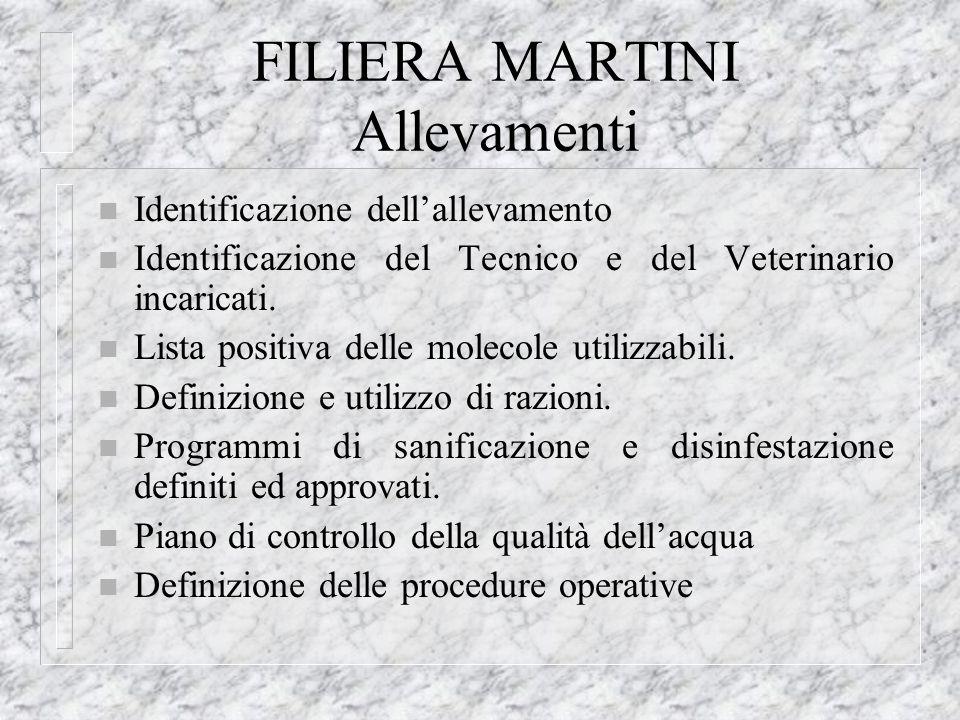FILIERA MARTINI Allevamenti