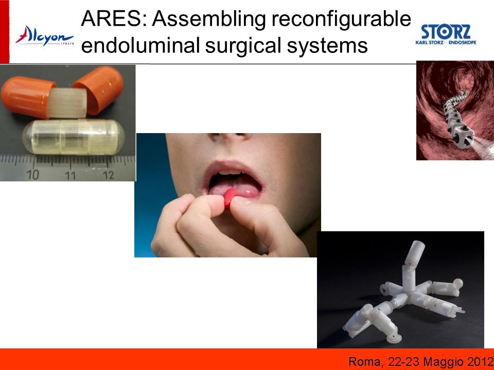 ARES: Assembling reconfigurable endoluminal surgical systems