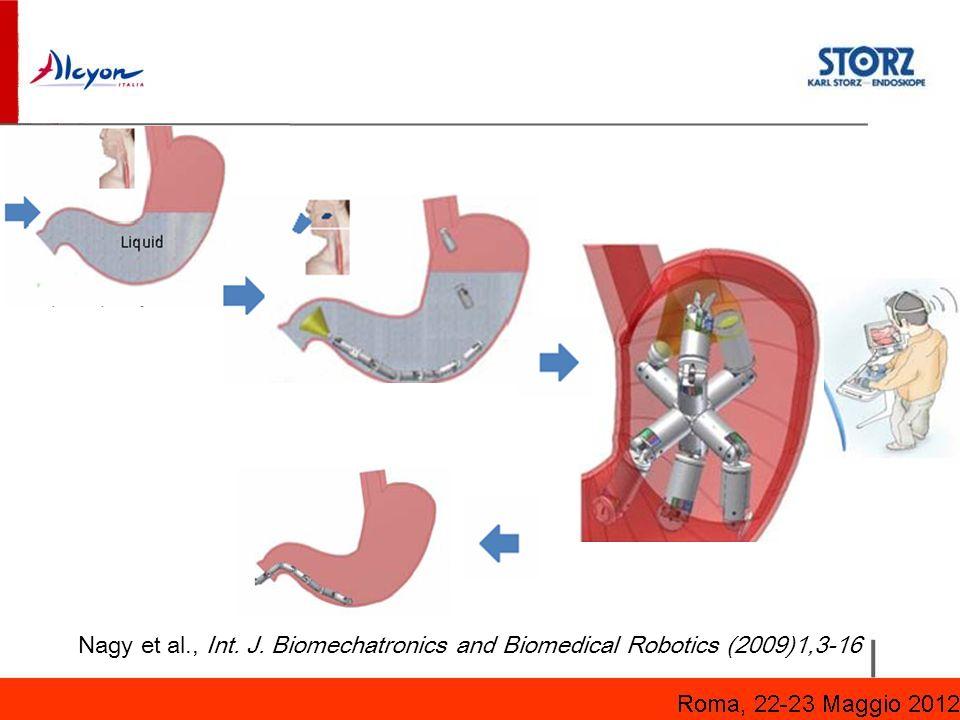Nagy et al., Int. J. Biomechatronics and Biomedical Robotics (2009)1,3-16