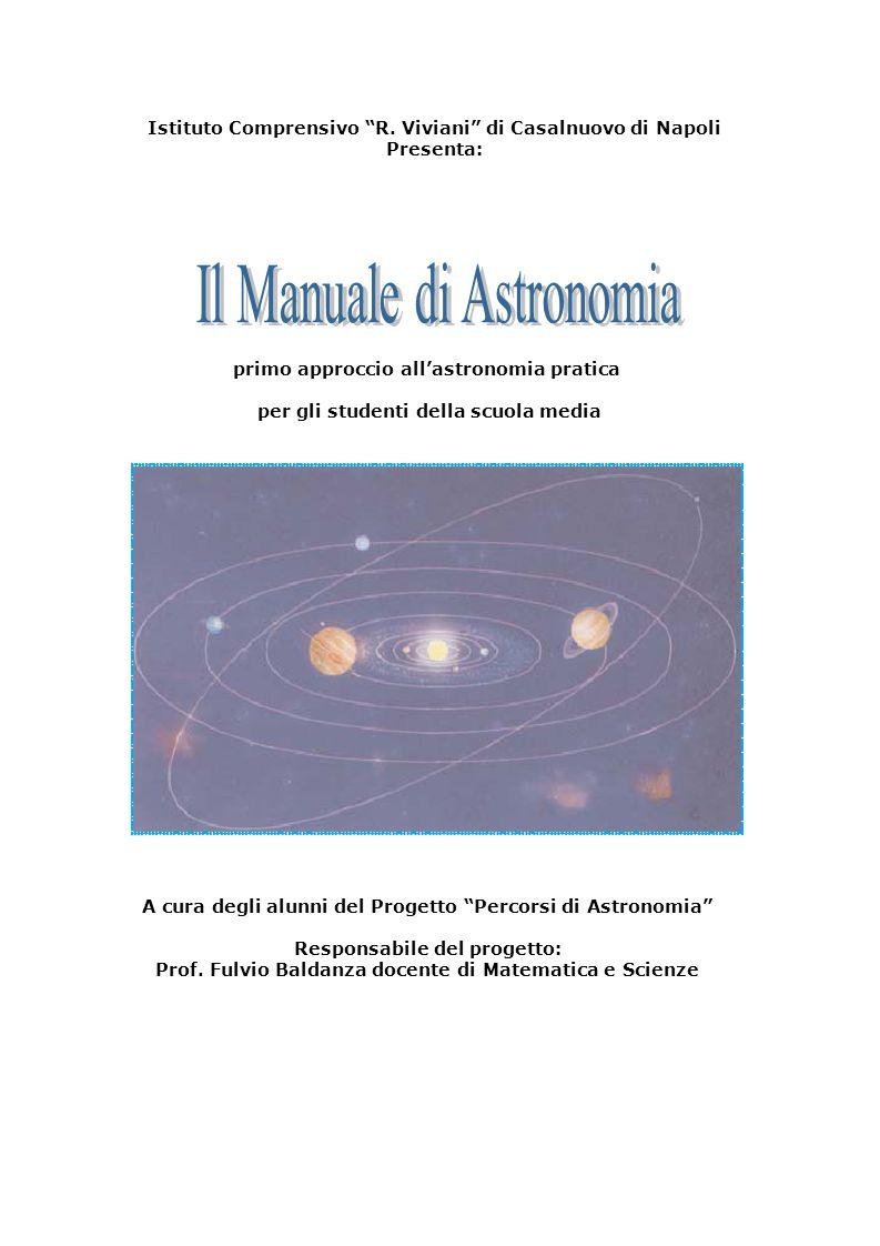 Il Manuale di Astronomia