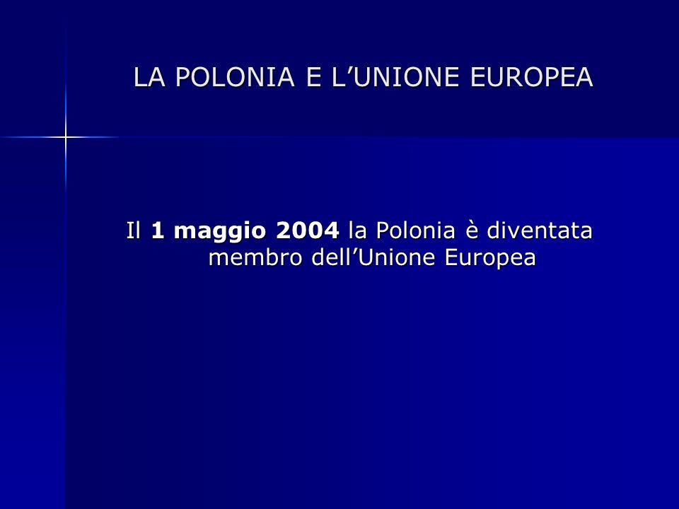 LA POLONIA E L'UNIONE EUROPEA