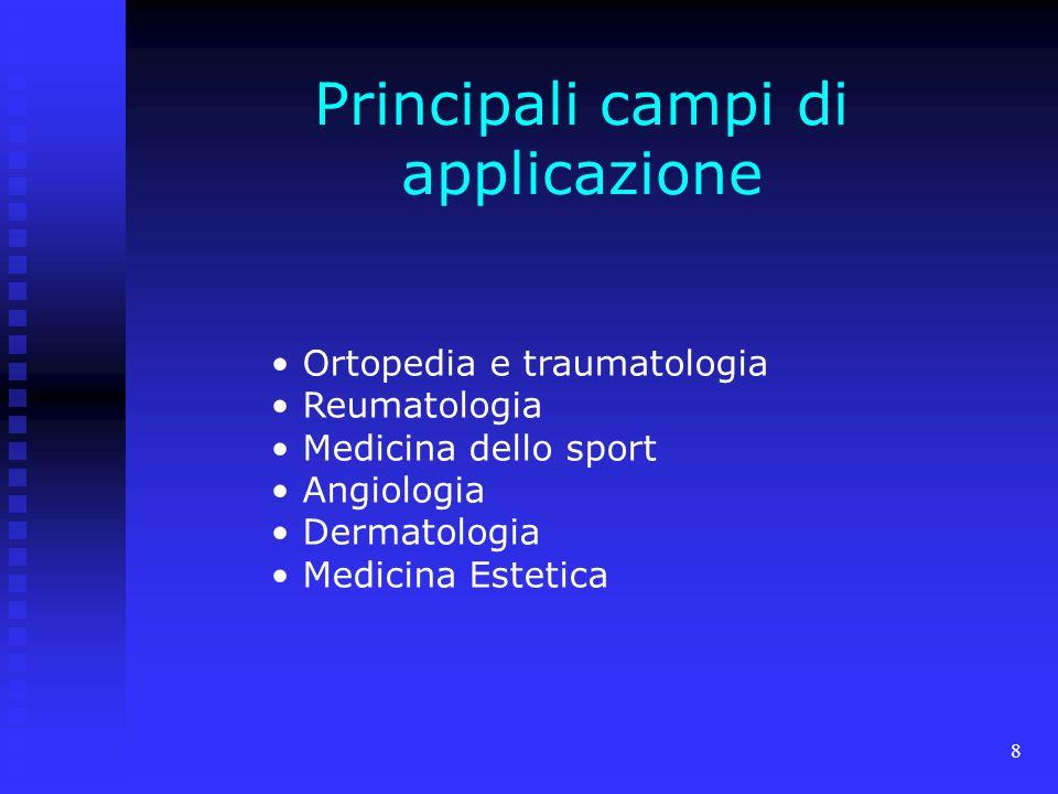 Principali campi di applicazione