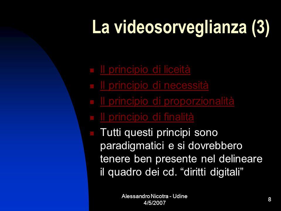 La videosorveglianza (3)