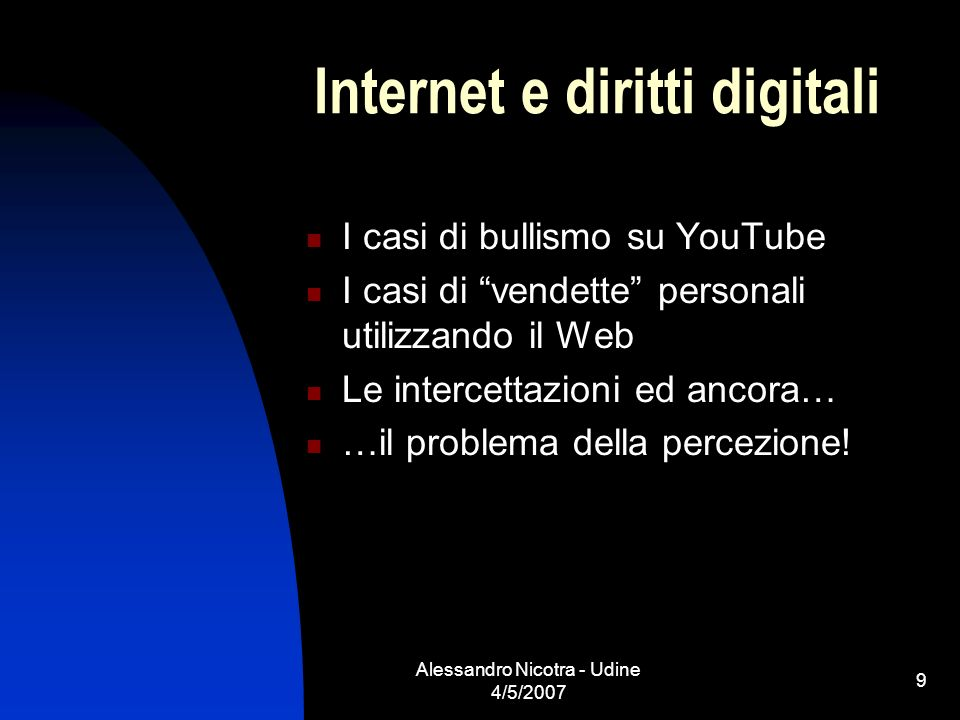 Internet e diritti digitali