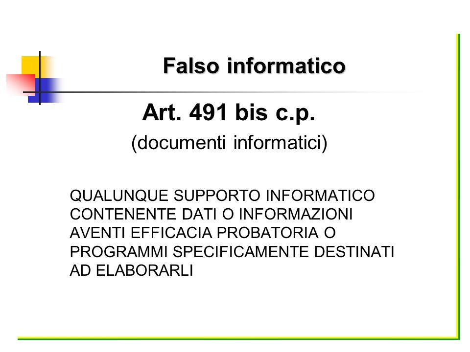 (documenti informatici)