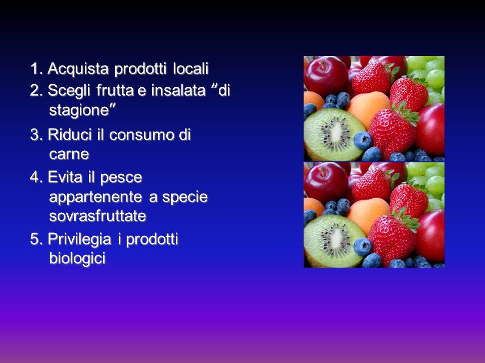1. Acquista prodotti locali