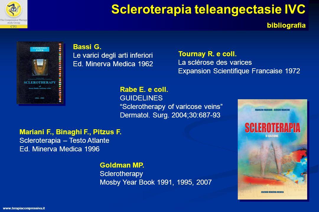 Scleroterapia teleangectasie IVC