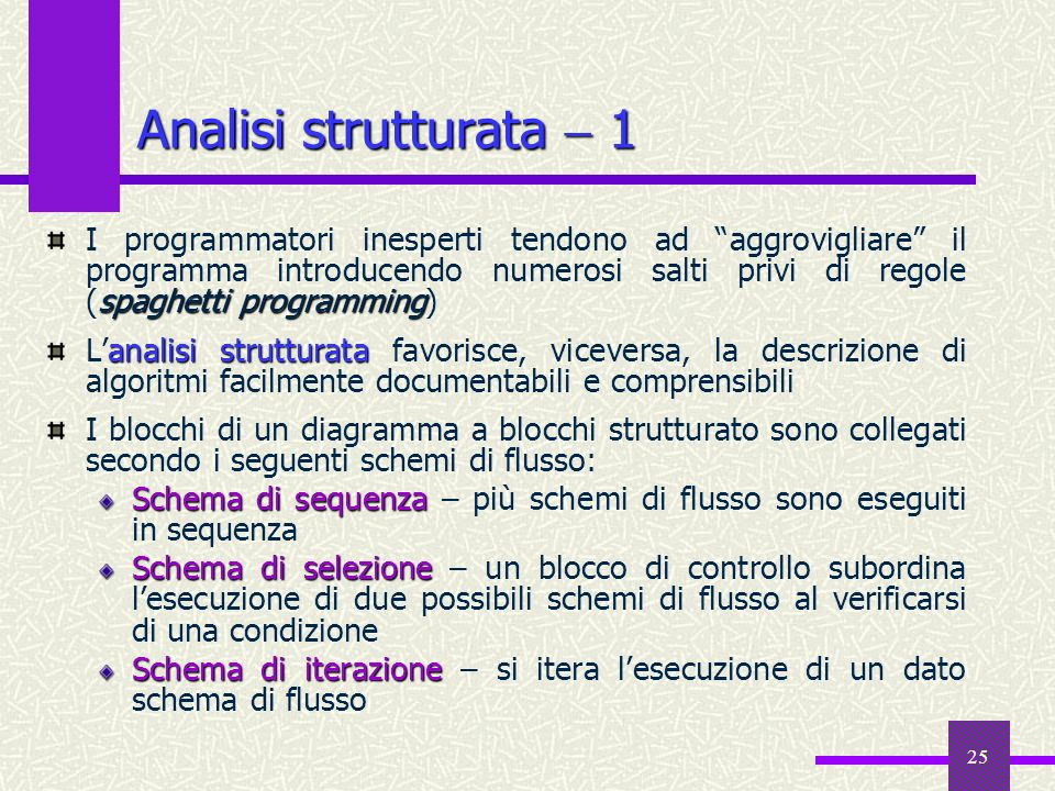 Analisi strutturata  1