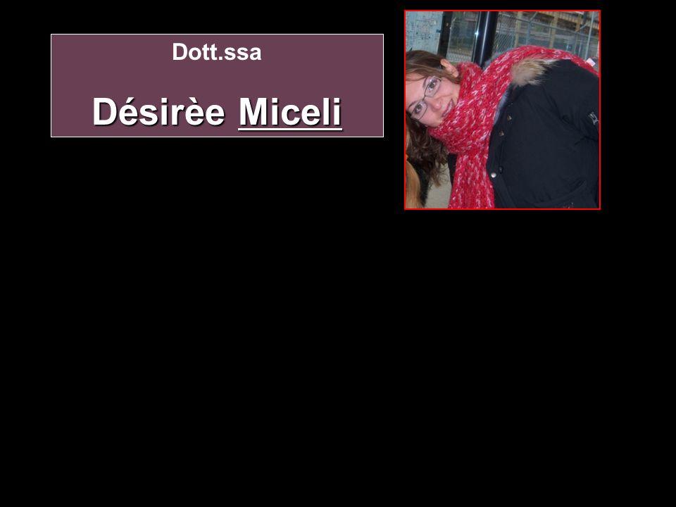 Dott.ssa Désirèe Miceli