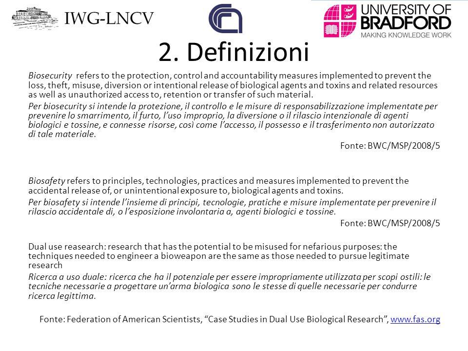2. Definizioni
