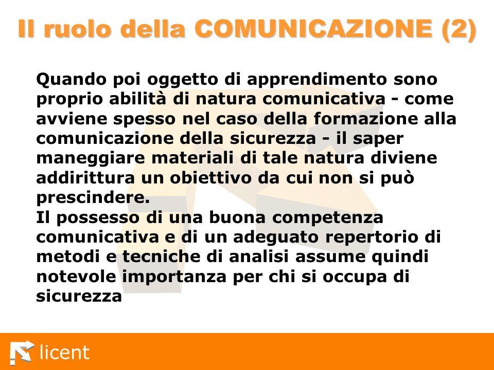 Il ruolo della COMUNICAZIONE (2)
