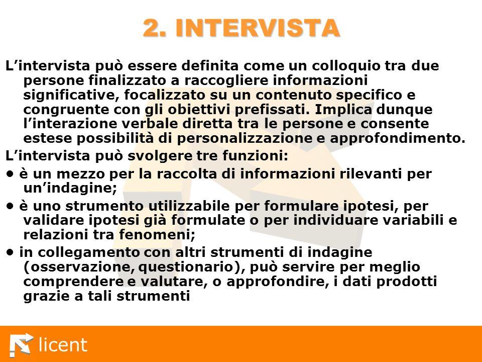 2. INTERVISTA