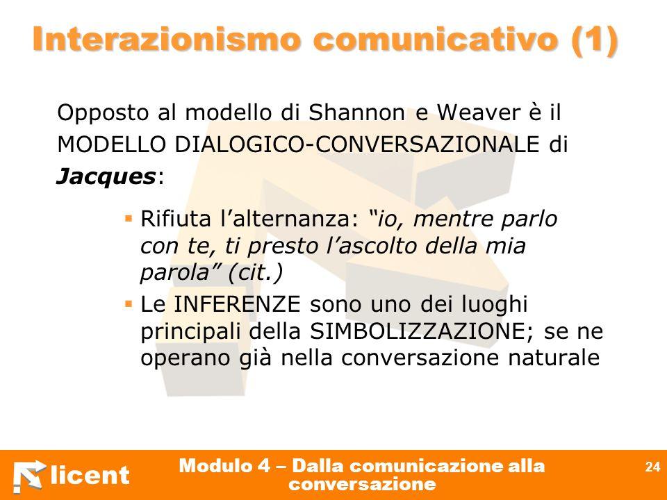 Interazionismo comunicativo (1)