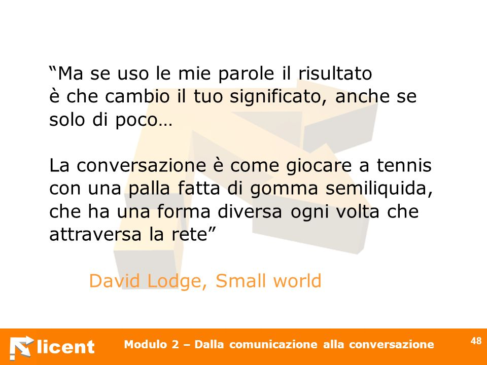 David Lodge, Small world