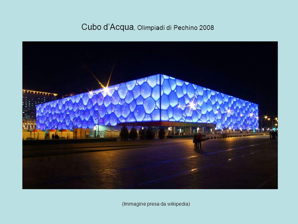 Cubo d'Acqua, Olimpiadi di Pechino 2008