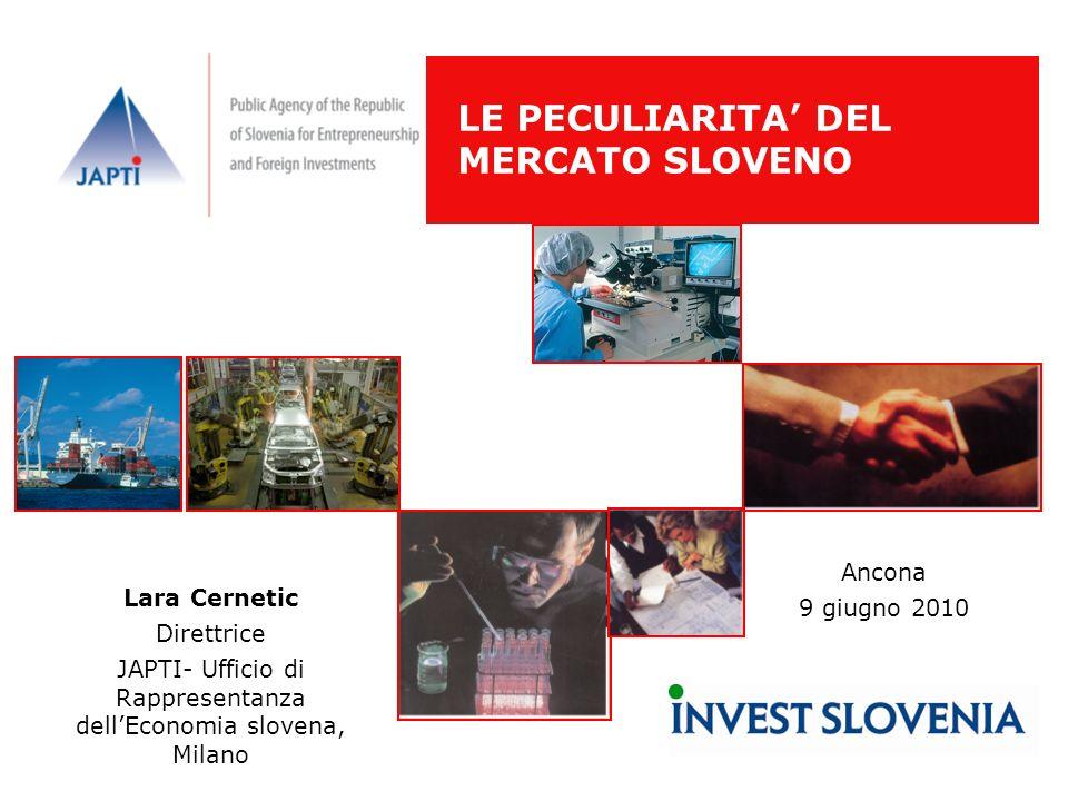 JAPTI- Ufficio di Rappresentanza dell'Economia slovena, Milano