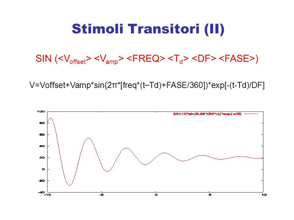 Stimoli Transitori (II)
